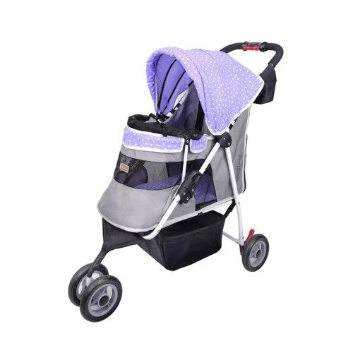 ibiyaya依比呀呀/閃亮星空寵物三輪車FS1101S-TV/寵物推車/寵物提袋/犬貓提袋