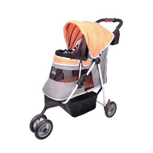 ibiyaya依比呀呀/閃亮星空寵物三輪車FS1101S-TO/寵物推車/寵物提袋/犬貓提袋