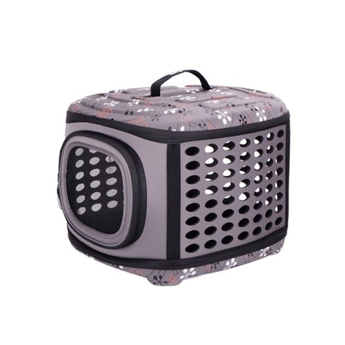 ibiyaya依比呀呀/輕巧摺疊寵物提籠FC1006-G/寵物提包/寵物外出/犬貓外出籠/外出袋