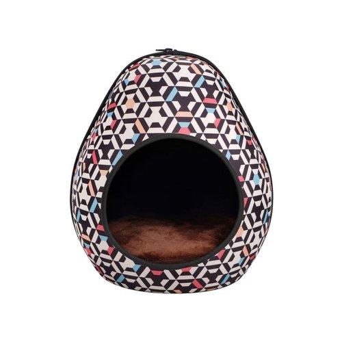 ibiyaya依比呀呀/摩登恐龍蛋寵物窩FB1412-HC/寵物睡窩/寵物睡床/犬貓睡墊