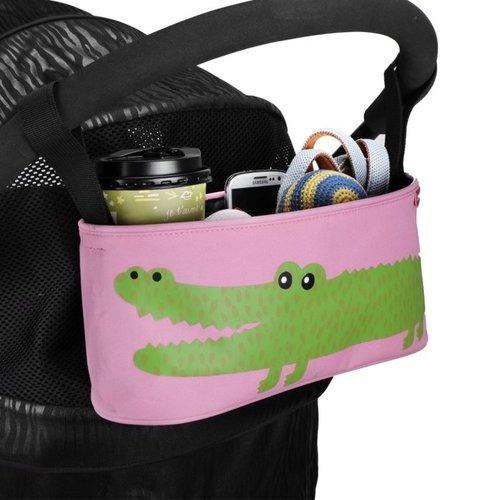 ibiyaya依比呀呀/寵物推車配件/推車配件/多用途置物吊袋-鱷魚