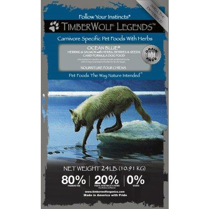 TimberWolf草本魔力白金版(深藍海/鹿肉鮭魚/黑森林)無穀全犬糧3磅