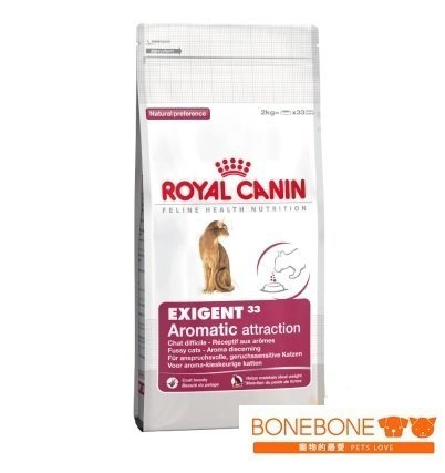 法國皇家Royal Canin/E33 挑嘴貓濃郁香味配方飼料 2KG