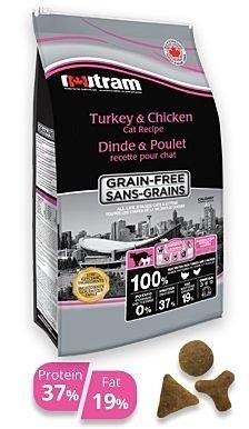 紐頓貓糧 T22無穀火雞+雞肉(挑嘴貓配方) 6.8KG