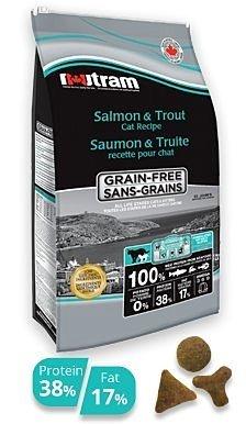 紐頓貓糧 T24無穀鮭魚+鱒魚(挑嘴貓配方) 6.8KG