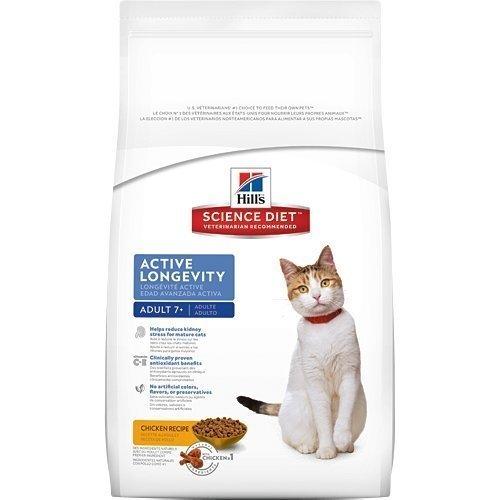 2016新包裝~新效期~希爾思Hill's 熟齡貓(7歲以上) 活力長壽配方/雞肉配方3.5kg 附發票正規貨源