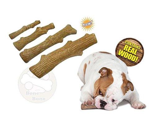 美國Petstages Durable Stick耐咬史迪克/狗狗玩具/啃咬(小型犬)/小(SMALL):13cm長/2.5cm粗
