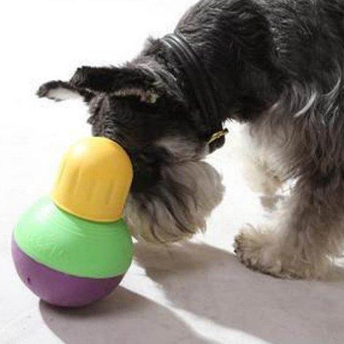 美國星記 StarMark 不倒翁玩具 狗用寵物玩具 可裝填飼料 智遊抗憂鬱防無聊玩具(小) small