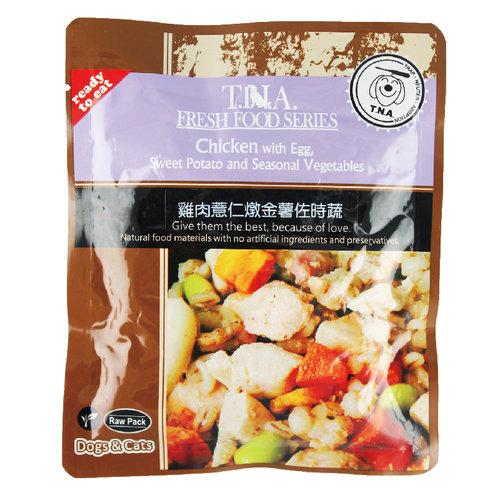 T.N.A. 悠遊餐包 台灣鮮雞燉薏仁金薯佐時蔬 150g 寵物餐包 寵物點心
