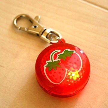 日本Pet Paradise授權正品 [Pretty Bouquet] 草莓PINK款外出散步用LED燈(紅光)