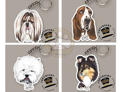 TOMMI VUORINEN 寵物造型插畫鑰匙圈 全系列2