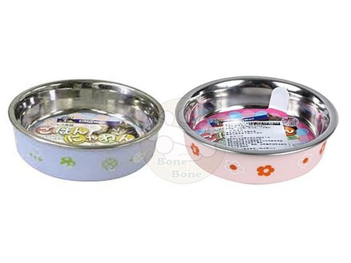 日本CattyMan貓用/DOGGYMAN狗用MINI號 卡通造型防滑不鏽鋼碗寵物碗/餐具/食盆
