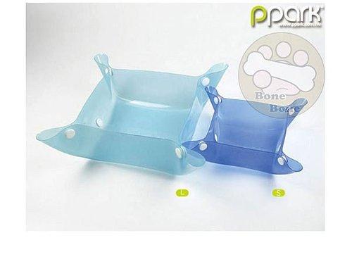 PPark攜帶型寵物碗/寵物外出碗/狗狗餐具/ 多種顏色 S號