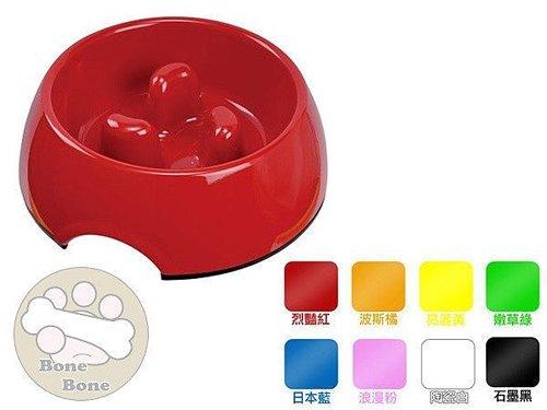 寵物專用慢食碗(S)3柱/寵物狗碗/小狗食碗(顏色請先確認)