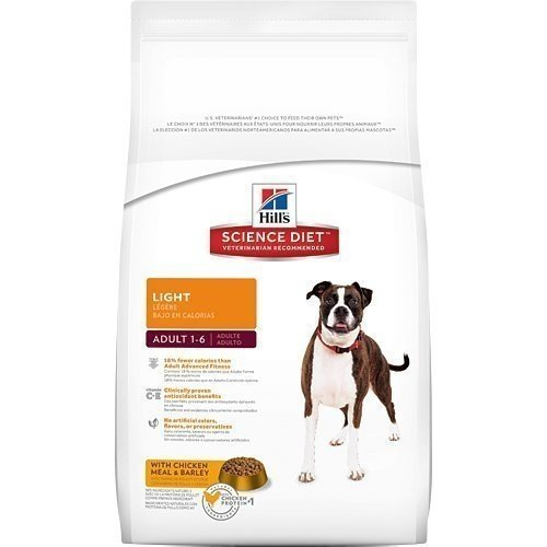 2016新包裝~新效期~希爾思Hill's 成犬 體重控制配方(原顆粒)/雞肉+大麥配方/狗狗飼料3kg 附發票正規貨源