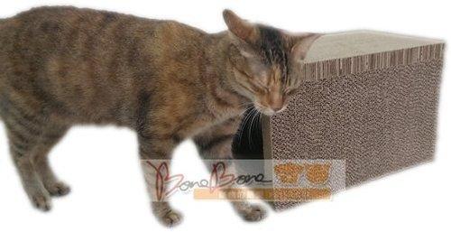 貓家BOXCAT抓板隧道玩樂組 貓咪磨爪功必殺好物 貓玩具 耐抓耐磨 磨爪紓壓