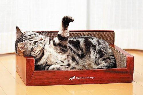 日本mju沙發型貓抓板