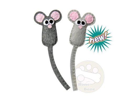 美國Petstages 環保貓草迷你鼠/貓玩具/貓草/寵物玩具/貓草玩具/迷你鼠玩具