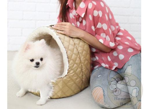 Daisuki PB05-003金色款/寵物睡床/寵物窩/狗狗睡窩/小型犬用
