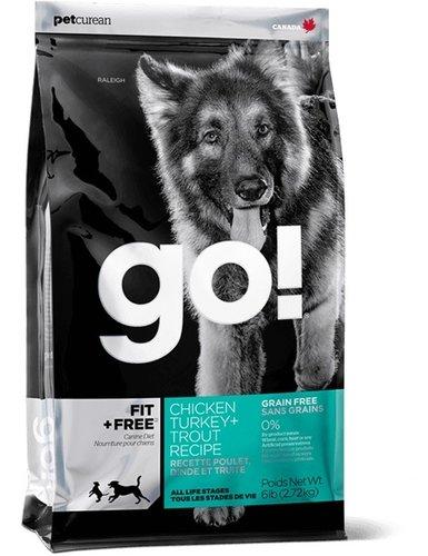 加拿大GO! 天然犬糧/狗狗飼料 6LB 雞肉鮭魚無穀全犬配方