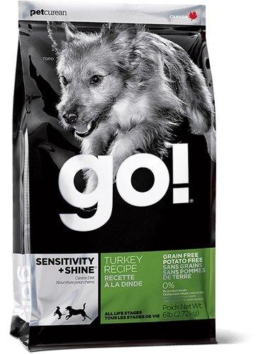加拿大GO! 天然犬糧/狗狗飼料 6LB 低致敏火雞肉無穀配方