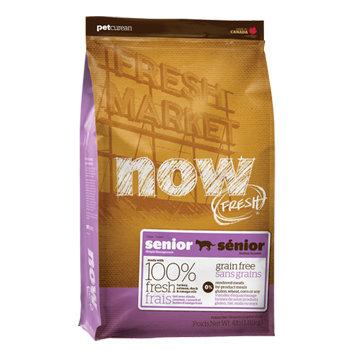 加拿大NOW FRESH™ -8LB鮮肉無穀天然糧老貓&減重配方 貓乾糧飼料/貓乾糧