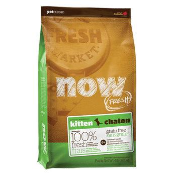 加拿大NOW FRESH™ -8LB鮮肉無穀天然糧 幼母貓配方