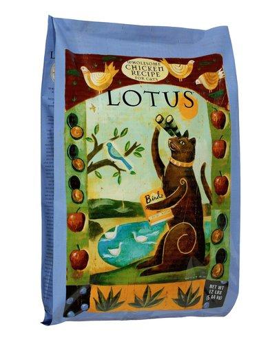 【買即送折價券】LOTUS樂特斯 慢焙貓乾糧飼料6LB 成貓-鮮雞佐海洋貽貝