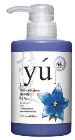YU 東方森草保養系列寵物沐浴乳 桔梗 400ML 寵物洗毛精