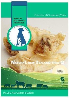 紐西蘭 100% 天然寵物零食-鹿耳80G
