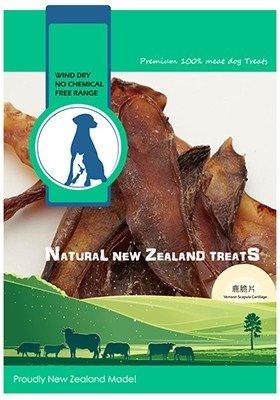 紐西蘭 100% 天然寵物零食-鹿脆片80G
