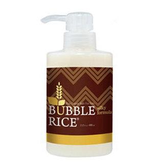 全新系列BUBBLE RICE 醇米寵物沐浴乳/狗狗沐浴乳 絲緞柔順 400ML