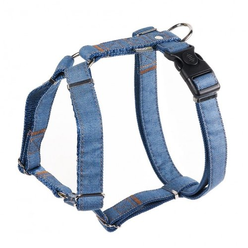 PPark -牛仔布-H型胸背帶/淺藍/四種尺寸
