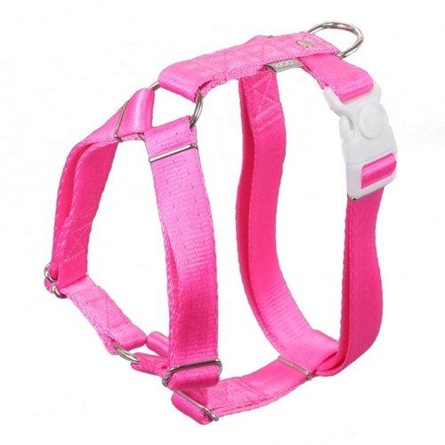 PPark -H型胸背帶/015螢光粉紅/五種尺寸