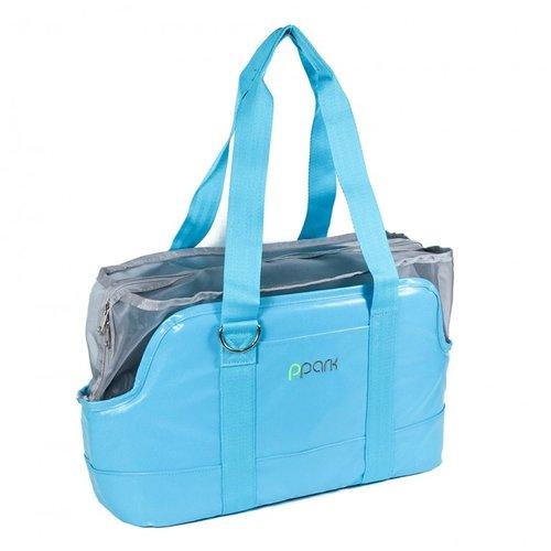 PPark -輕便型寵物包(小型犬適用)-藍色