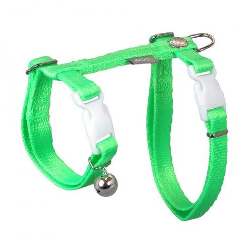 PPark - 貓胸背帶/16螢光綠/兩種尺寸