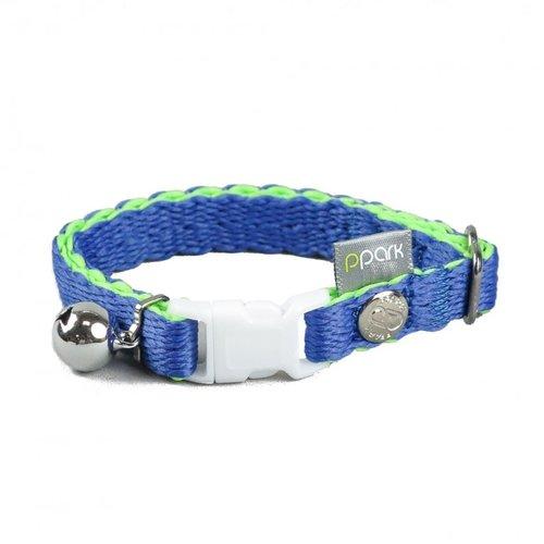 PPark - 環保紗-貓項圈/寶藍色/單一尺寸