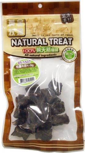 紐西蘭NATURAL TREAT黃金牧場天然寵物零食/狗狗點心/松露牛肝120g