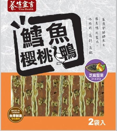 養生宣言-鱈魚 櫻桃鴨 芝麻堅果鴨肉片 200g 狗零食/狗狗點心/寵物零食