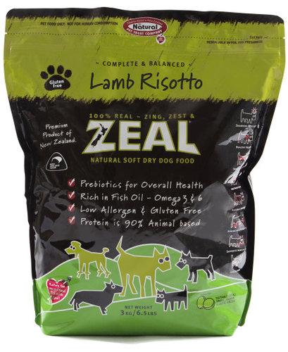 ZEAL 紐西蘭6.5LB天然寵物半軟全犬糧/軟飼料 羊肉口味
