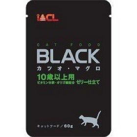 日本 iACL BLACK 貓咪餐包/寵物蒸鮮包/巧鮮包 貓餐包 60g (鮪魚+鰹魚 10歲以上)