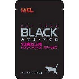 日本 iACL BLACK 貓咪餐包/寵物蒸鮮包/巧鮮包 貓餐包 60g (鮪魚+鰹魚 13歲以上)