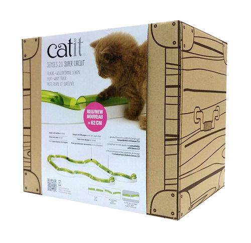 CATIT2.0 平地+坡地競速場(CA-0043) 躲貓貓遊戲,貓遊戲 激發好奇心 捉球遊戲 貓玩具