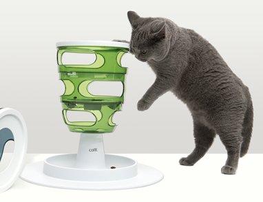CATIT 2.0 趣味益智餵食器 貓餵食器 貓玩具 益智遊戲 貓遊戲 可放置貓點心