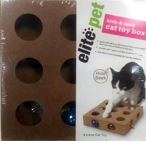 elite pet 貓咪九宮格尋寶 貓益智玩具 貓遊戲 寵物玩具 寵物益智遊戲