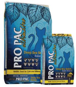 美國柏克PRO PAC無穀糧-全齡貓(白鮭+鷹嘴豆+藍莓)5LB/PK-1012深海滋養無榖鮮魚/貓飼料/貓糧