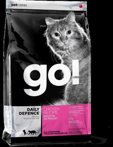 加拿大 GO!雞肉蔬果營養配方貓糧 無穀貓糧 天然貓糧/貓咪飼料 16磅