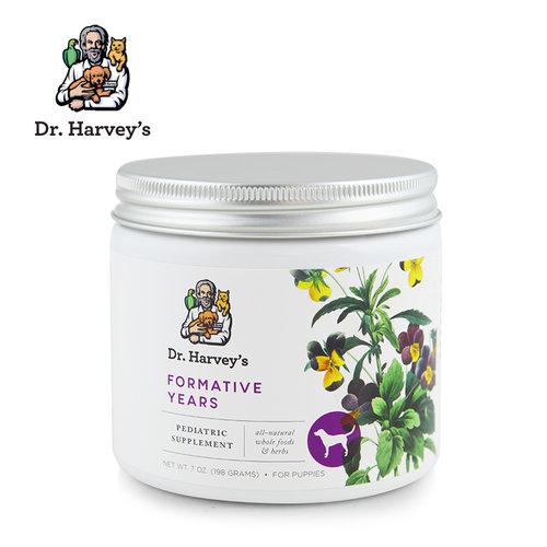 美國Dr. Harvey s哈維博士 幼犬用成長均衡草本營養粉 8oz