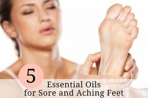 舒緩腿部疼痛的五種精油
