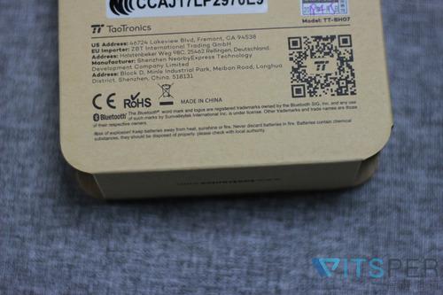 2019年CP值最高 - TaoTronics TT-BH07磁吸藍牙耳機
